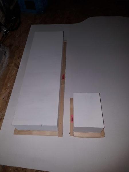 Fabrication niches encastrées