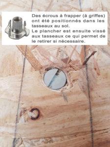 Système de fixation du plancher