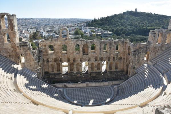 Athènes - Théâtre de Dionysos
