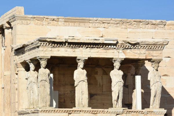 Athènes - ancien temple d'Athéna