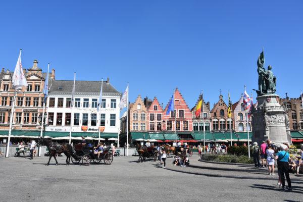 Bruges - place