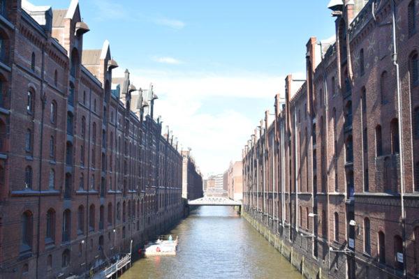 Ville de Hambourg - canaux