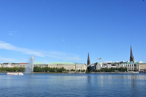 Hambourg - lac