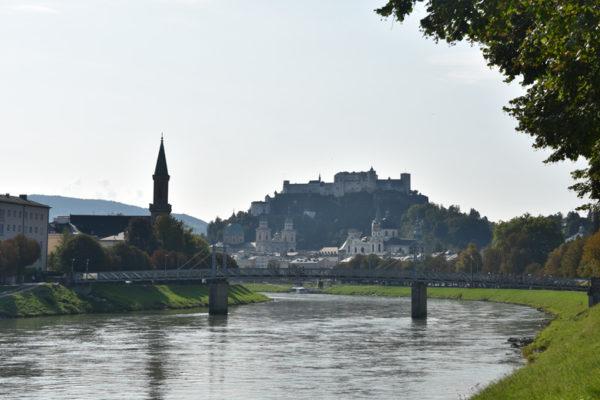 Ville de Salzbourg - vue