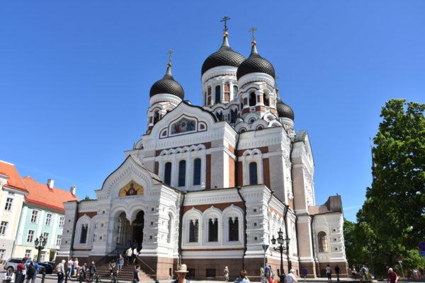 Tallinn - cathédrale russe