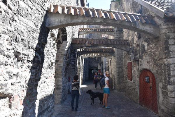 Ville de Tallinn - passage